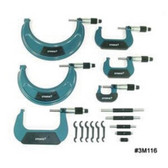 Central Tools 3M116 6 Piece Import Outside Micrometer Set