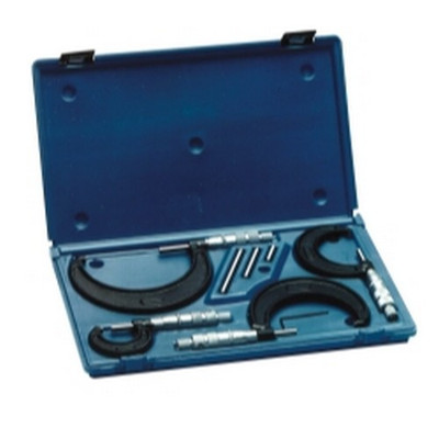 Central Tools 6151 4 Piece Micrometer Set