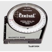 Central Tools 6494A Angle Finder with Magnetic Base