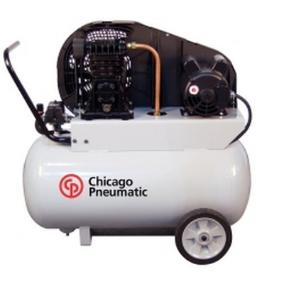 Chicago Pneumatic RCP-220P Portable Reciprocating Single Stage 2 HP Electric Drive Compressor