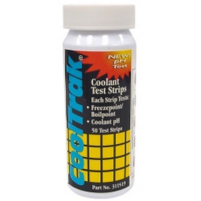 Cool-Trak 311519 CoolTrak® Coolant Test Strip - 50 Per Bottle