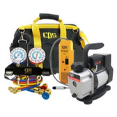CPS Products KTBLM1 Quality Manifold, Pump and Leak Detector Kit