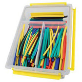 EZ Red HS34 Heat Shrink Tubes Assortment 235pc