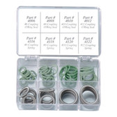 FJC  4290 60 Piece Ford Spring Lock O-Ring Kit