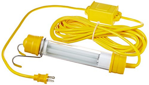 General Manufacturing 1413-2500 Stubby 13 Watt Fluorescent Light with 25' Cord