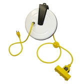 General Manufacturing 2630-3000 Power Supply Reel with 30' Cord, Triple Receptacle and Circuit Breaker