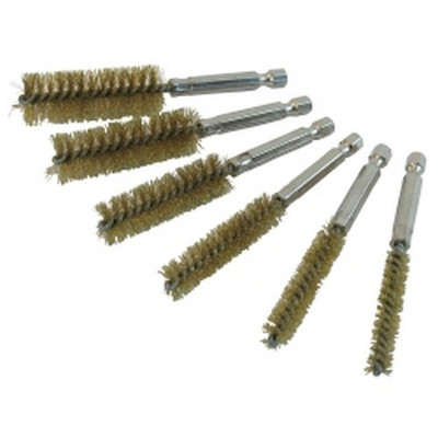 Innovative Products of America 8081 6 Piece Brass Bore Brush Set
