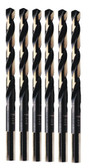 Irwin 3019029B 29/64-Inch Black and Gold HSS 135-Degree Jobber Length Drill Bit