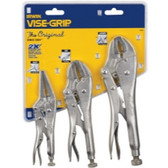 Irwin 323S 3 Piece Original Locking Pliers Set (10WR, 7R and 6LN)