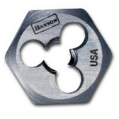 "Irwin 6411 High Carbon Steel Hexagon 1"" Across Flat Die 4-36 NS"