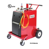 John Dow FC-P30A-UL 30-Gallon UL Listed Steel Gas Caddy - Air Operated