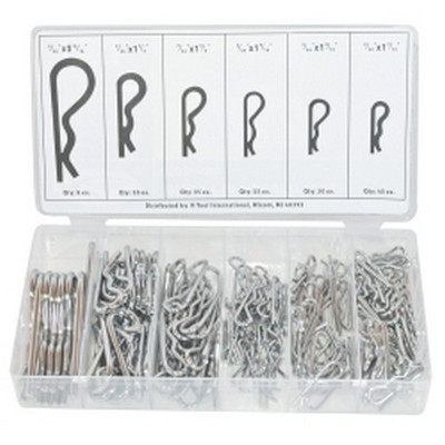 K Tool KTI-00071 150 Piece Hitch Pin Assortment Kit