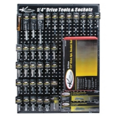 "K Tool KTI-0805 1/4"" Drive Tool Board Display"