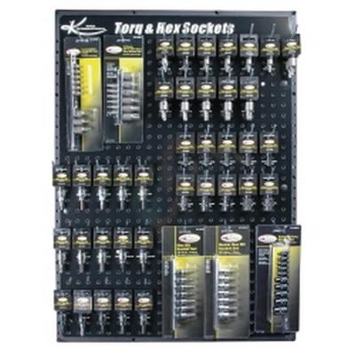 K Tool KTI-0810 Torq and Hex Bit Display Board