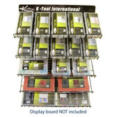 K Tool KTI-0843 Electrical and Hardware Component Assortment Display