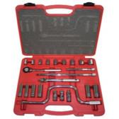 "K Tool KTI-22023 23 Piece 3/8"" Drive Chrome Socket Set"