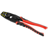K Tool KTI56204 Professional Multipurpose Crimping and Wire Stripper - 1.5/2.5/6.0/10/16 MM
