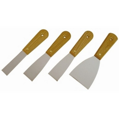 K Tool KTI-70004 4-PIECE SCRAPER/PUTTY KNIFE SET