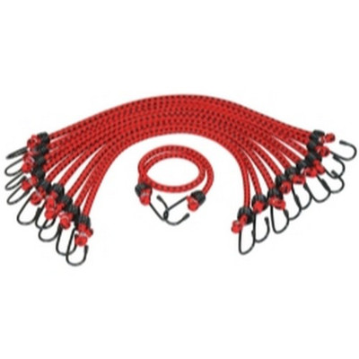 "K Tool KTI-73831 General Purpose Bungee Cord 3/8"" X 24"" 10/pk"
