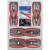 Knipex 00 20 04 SB 8 Piece Precision Circlip Pliers Set