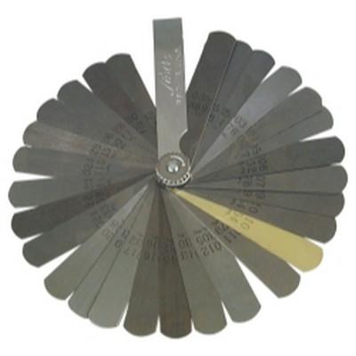 Lisle 68100 Blade Type .0015 to .035 Deluxe Feeler Gauge