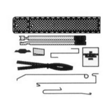 Lock Technology 200 9 Piece Mini Master Automotive Lock Out Kit