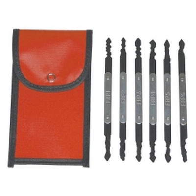 Lock Technology 320 6 Piece European and Asian Automotive Lock Pick Set