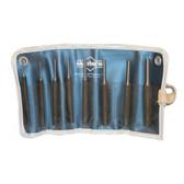 Mayhew Tools 62060 8 Piece Knurled Pin Punch Kit
