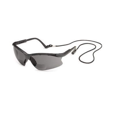 Gateway Safety 16MG15 Grey Scorpion Safety Glasses, 1.5X Magnifier