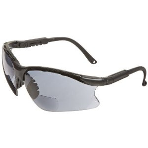 Gateway Safety 16MG25 Grey Scorpion Safety Glasses, 2.5X Magnifier