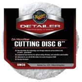 """Meguiars DMC6B Meguiar€™s® 6"""" DA Microfiber Cutting Discs - 12 Per Pack"""