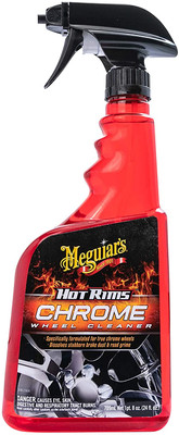 Meguiars G19124 HOT RIMS CHROME WHEEL CLEANER