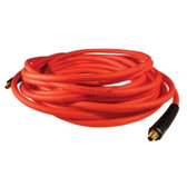"Milton MA1425OR Milton Hybrid PVC Red Hose, 1/4"" X 25' With 1/4"" NPT"