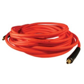 "Milton MA1450OR Milton Hybrid PVC Red Hose 1/4"" X 50' With 1/4"" NPT"