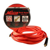 "Milton MA3850OR Milton Red Hybrid PVC Hose 3/8"" X 50' With 1/4"" NPT"