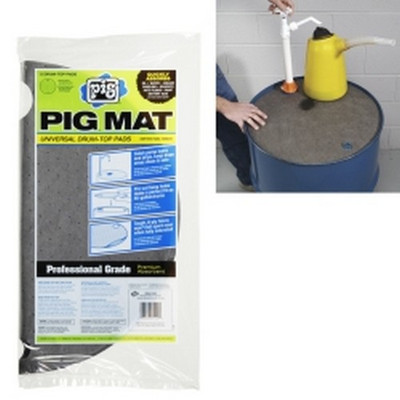 New Pig 25102 PIG® Universal Light-Weight Absorbent Drum-Top Pad (5 Pads per Bag)