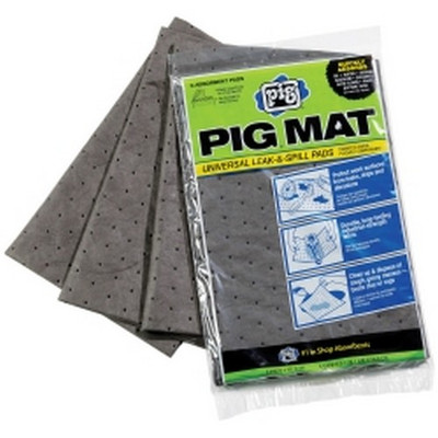 New Pig 25306 PIG Universal Medium Weight Absorbent Mat Pack (1 Pack of 3)