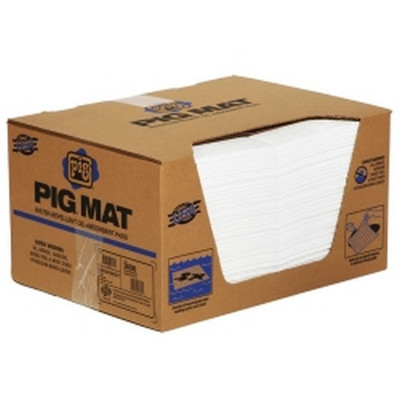 "New Pig 26300 PIG® Water-Repellent, Oil-Absorbent, Medium-Weight Mat Pad - 15"" x 20"""