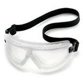 Gateway Safety 45878 Goggle/Blk Frame/Gray Lens Safety Glasses