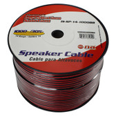 Nippon America ISSP141000BR Pipeman'S 14 Gauge Speaker Cable 1000Ft Black/Red Jacket