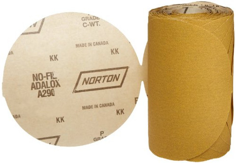 Norton 49840 PSA Disc Roll 6In. 120 Grit A/O