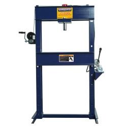 Omega HW93300 25 Ton Shop Press with Hand Pump
