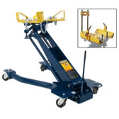 Omega HW93718 & HW93248 1 Ton Low Profile Transmission Jack with Saddle Adaptor