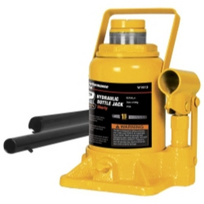 Performance Tool W1627 12 Ton Shorty Hydraulic Bottle Jack