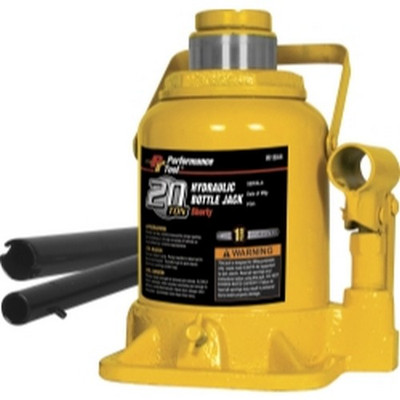 Performance Tool W1644 20 Ton Shorty Hydraulic Bottle Jack