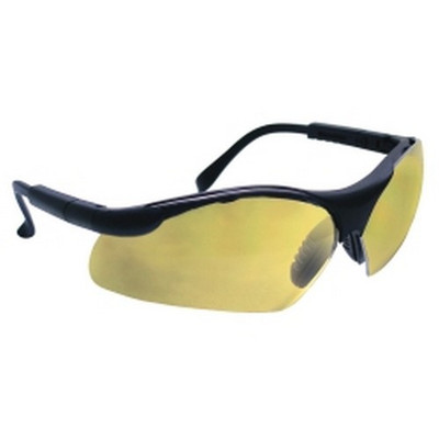 SAS Safety 541-0004 Sidewinders Safety Glasses - Black Frames/Gold Mirror Lens
