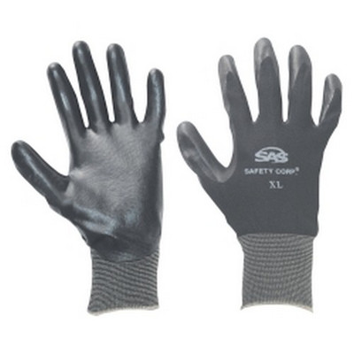 SAS Safety 640-1907 Paws Nitrile Coated Glove - Small