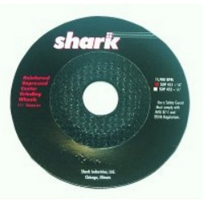 "Shark Industries SDP451 4-1/2"" x 1/8"" x 7/8"" Grinding Wheel"