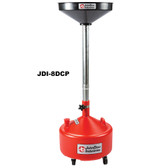 John Dow JDI-8DCP 8 Gallon Poly Portable Oil Drain