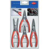 Knipex 002003SB 4-Pc Retaining Ring Pliers Set